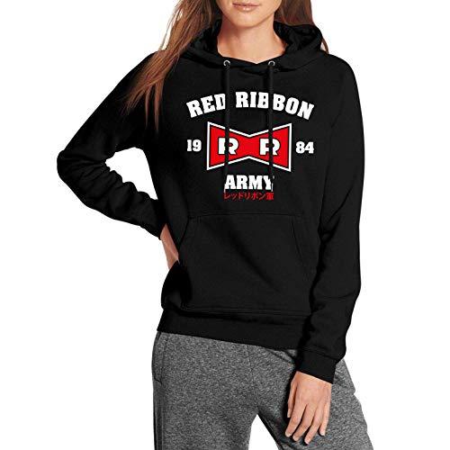 Desconocido Red Ribbon Army - Sudadera con Capucha para Mujer (S)