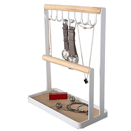 XIAOLI Soporte De Joyería para Almacenamiento De Collar, Soporte De Exhibición De Escritorio, Estante De Almacenamiento para Llaves