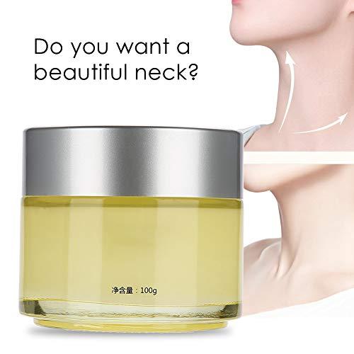 Crema para el cuello, crema para el cuidado de la piel, antiarrugas, reafirmante, hidratante, blanqueador para un cuello más firme y sin arrugas