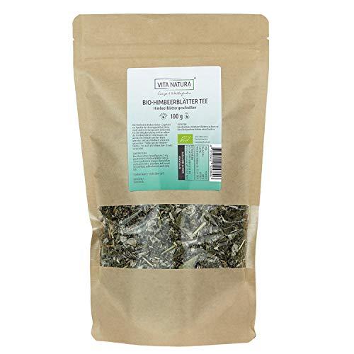Vita Natura Himbeerblätter Tee, Schwangerschaftstee, Bio, 1er Pack (1 x 100 g)