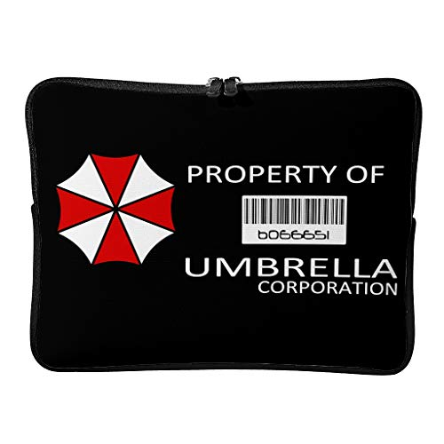 5 Sizes Corporation of Umbrella Laptop Bags Casual Waterproof Horror Scary Tablet Briefcase Suitable for Outdoor Use