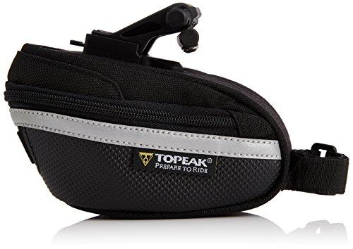 Topeak Wedge Pack II zitzak met F25 fixer en regen, klein