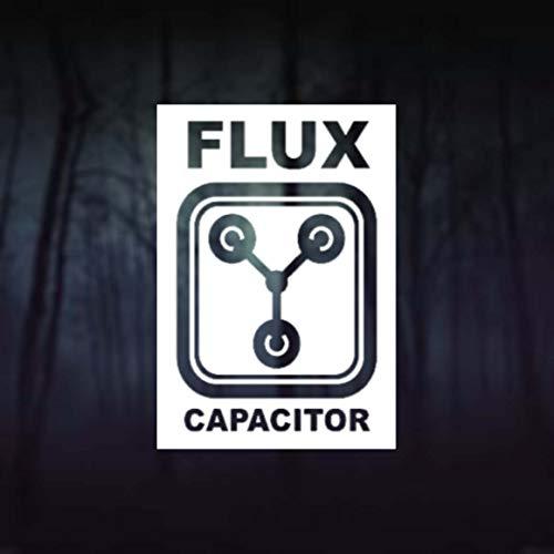 CELYCASY Flux Kondensator Back to the Future Auto-Aufkleber Vinyl Laptop Handy