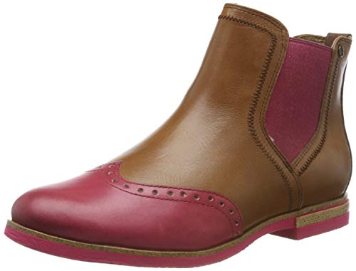 Tamaris Damen 1-1-25027-23 Chelsea Boots, Braun (NUT Comb 441), 37 EU