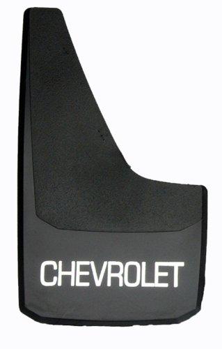 "RoadSport 4751 'B' Series Universal Fit Premiere Splash Guard (Black with Chevrolet; 15-3/4"" Height x 8-7/8"" Wide)"