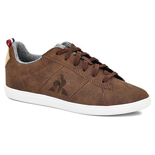 Le Coq Sportif Unisex-Erwachsene Courtclassic Gs Sneaker, Braun, 39 EU