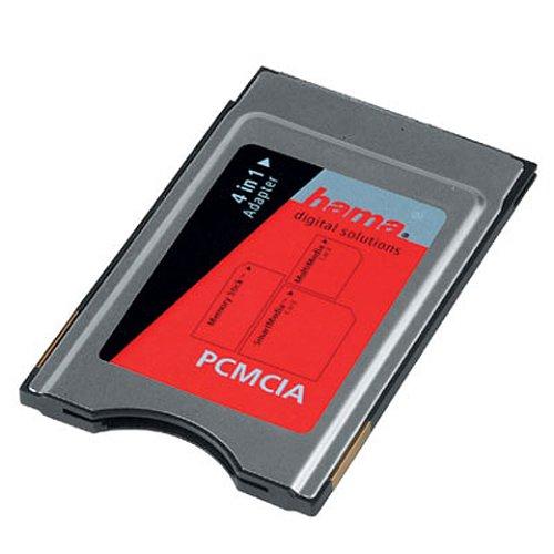 Hama 4 in 1 PC-Card-Adapter (SmartMedia, Multimedia, SecureDigital und MemoryStick)