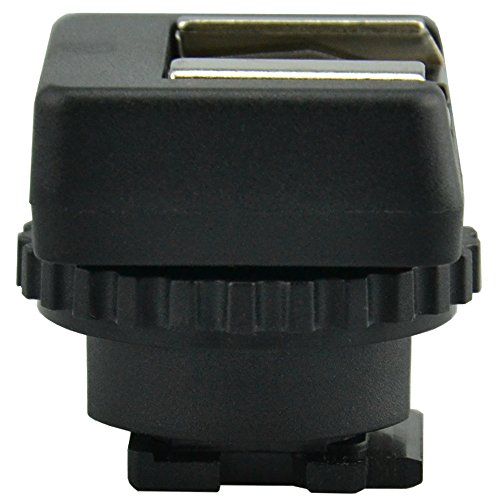 JJC MSA-MIS Cold Mount Adapter Converter for Sony Multi Interface Shoe -Black