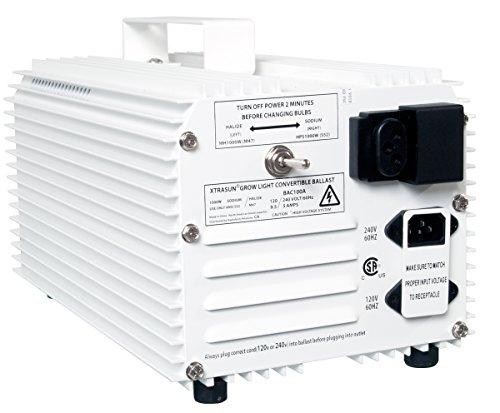 1000W Xtrasun MH/HPS Convertible Ballast, 120/240v