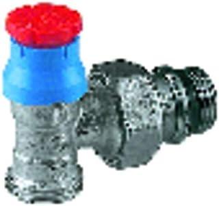 Giacomini - Grifería gas de radiador - Válvula escuadra R411TG 1/2
