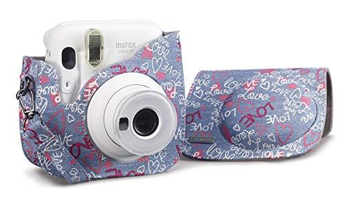 Cullmann Rio Fit 110 Kameratasche für Fuji Instax Mini 11, Design Love
