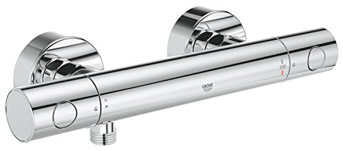 GROHE Grohtherm 1000 Cosmopolitan | Thermostat-Brausebatterie, mit Wasserspar-Technologie | chrom | 34065002