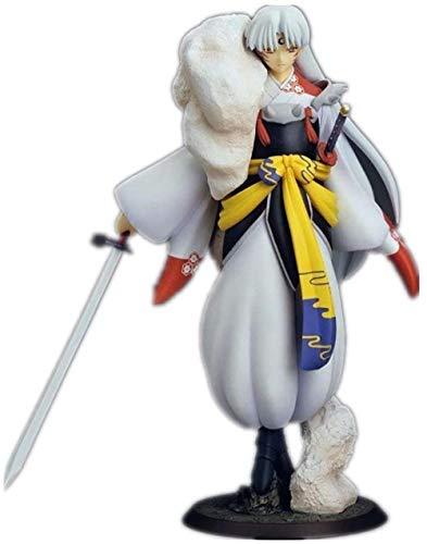 LJXGZY De la Figura de Inuyasha Hecha a Mano, Figura de Sesshoumaru, Figura de Anime, coleccion de accion, decoracion, Modelo, Estatua de Regalo de cumpleanos