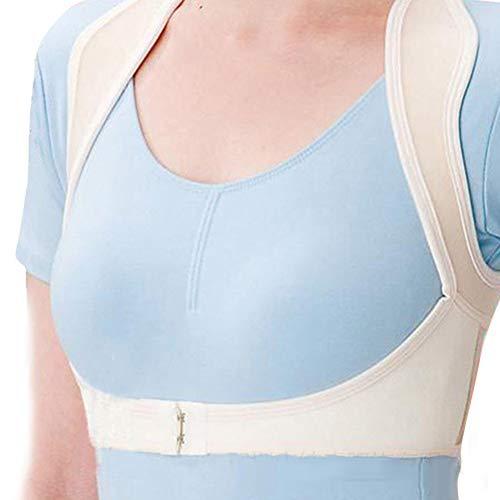 Corrector de postura, cinturón de corrección de jorobado Soporte de columna vertebral ajustable Corrector de postura Corrector ergonómico de enderezado de espalda para mujeres y hombres(SG)