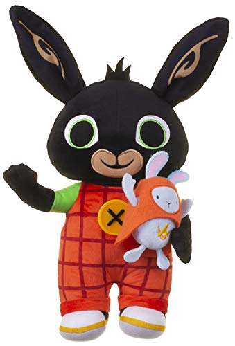 Light Up Talking Bing - Peluche con hoppity, 36 cm