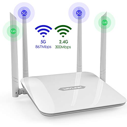 Gigabit WiFi Router,WAVLINK 1200Mbps WiFi Router,High Power Wireless...
