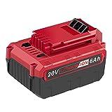 LabTEC PCC685L 20V 6000mAh Lithium Battery Replacement for Porter Cable 20V Battery PCC685L PCC685LP PCC680L PCC682L PCCK602L2 PCC600 PCC640 Cordless Power Tools Battery