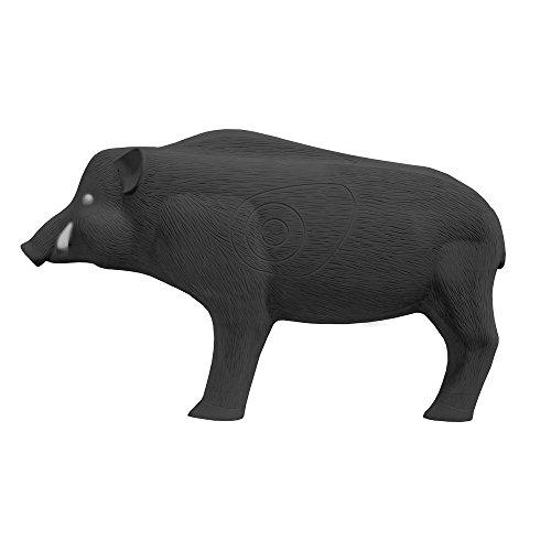 Shooter Field Logic 3D Archery Hog Target, Black, One Size