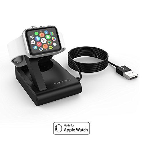 dodocool MFI Certificado (PPID: 106305-0464) Nightstand Cargador Magnético Plegable Compatible para Apple Watch, Soporte de Reloj Ángulo Ajustable para Series 1/2/3, 38mm/42mm y Series 4 40mm/44mm