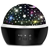 Star Sky Night Lamp for Kids Birthday Gifts for 1-12-Year-Old Boys Girls, Multi Colors Rotating Light Projection Lamp for Children Bedroom Starry Sky Night Lights for Kids - Stars/Ocean Theme