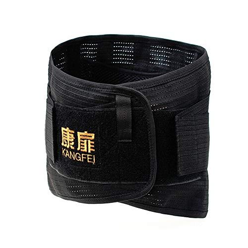 ZFF Respirable Soporte Lumbar Cinturón,Hombre Mujer Dolor Alivio Espalda Brace & Mejora...