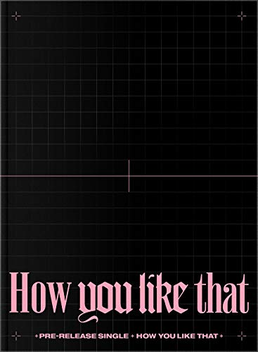 Blackpink - How You Like That (Special Edition) Album+Folded Poster+Hologram Photocard+Double Side Photocards Set