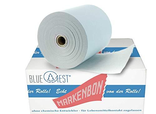 Öko-Rollen/Öko Thermo 30 ökologische blue4est® Thermorollen für Epson TM-T 88 V -iHub [80m] - markenbon