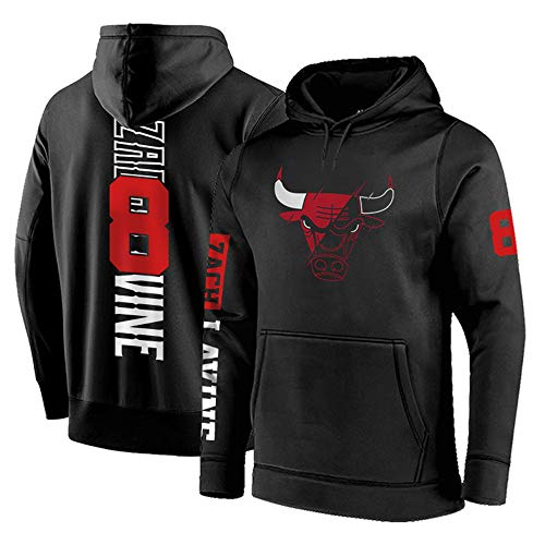LLKSS Beiläufige Hoodies Chicago Bulls Sweatshirts Jordan 23# Männer/Frau Pullover 8# Männer Hoodie schwarz grau rot XS-4XL