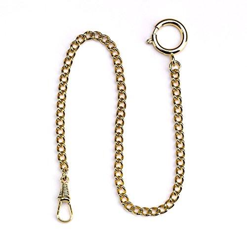 Rapport Taschenuhr Kette Gold mit Ring
