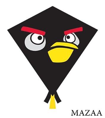 Angry Birds Nylon Diamond Kite - Black Bird [Toy]