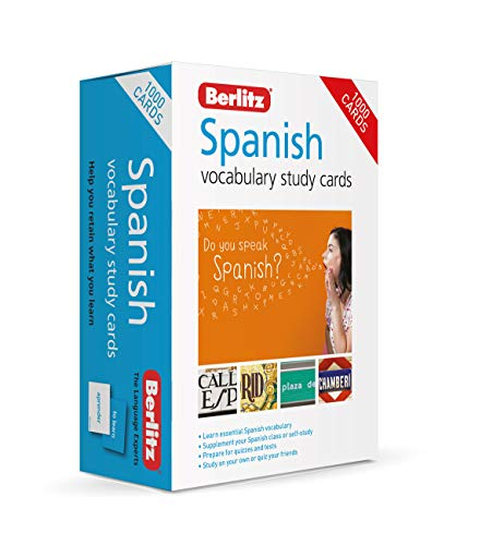 Berlitz Vocabulary Study Cards Spanish (Language Flash Cards)