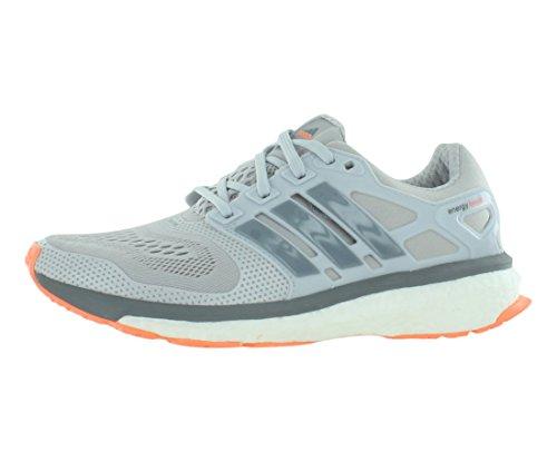 adidas Energy Boost ESM Running de la Mujer, Color Gris, Talla 42 2/3 EU