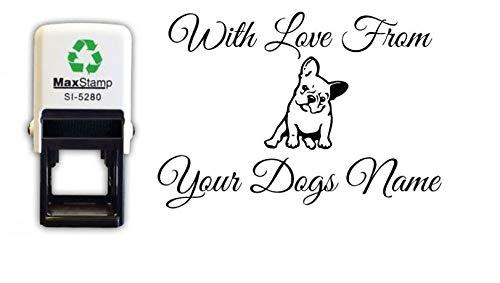 Sello personalizado para mascotas, para My French Bulldog, autoentinta