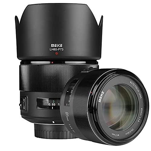 MEKE Teleobjektiv für F-Mount-DSLR-Kamera, 85 mm, f1.8, große Blende, Vollrahmen, Autofokus, kompatibel mit APS-C-Gehäuse wieD610 D750 D780 D810 D850 D3300 D3500 D5100 D5200 D5300 D7100 D7200