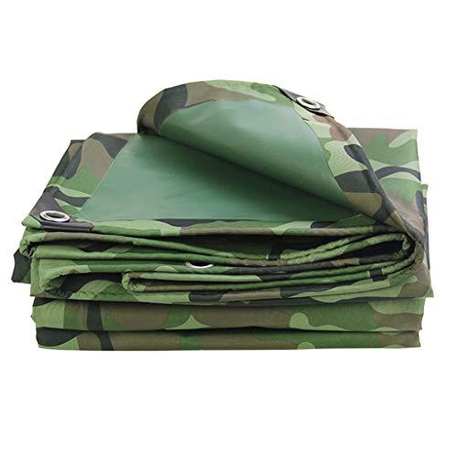 Discover Bargain Household tarpaulin tarpaulin tarpaulin thick camouflage sunscreen tarpaulin truck rainproof dustproof sunscreen (Color : Green, Size : 36m)