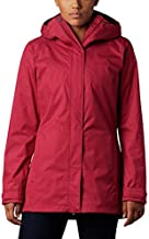 Columbia Women's Standard Splash A Little II Brethable Shell Jacket, Red Orchid, X-Small