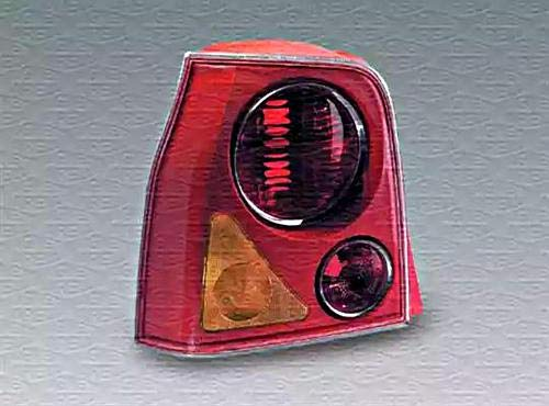 Magneti Marelli 62354 - achterlicht achterlicht rechts rood