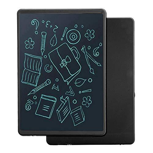 10 inch schrijfblok, elektronisch notitieblok, LCD grafische tablet, ondersteuning voor 3 kleurtypes, tekentafel, beste cadeau voor kinderen (zwart)