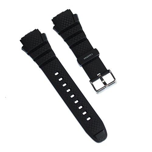 Calypso, Cinturino sportivo in poliuretano, colore nero, per orologi Calypso K5626