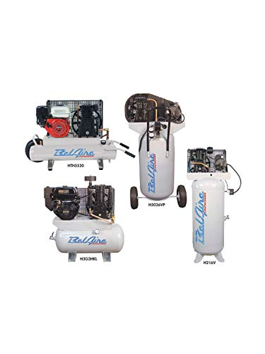 BelAire 318VN 5 HP 80 Gallon 1-Phase Vertical 2 Stage Air Compressor