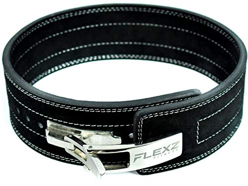 FlexzFitness Lever Weight Lifting Belt for Men & Women Lower