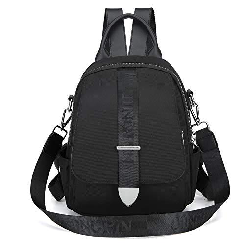 I IHAYNER Rucksack Damen Herren Canvas Rucksack Durable Bags Quaste Bär Daypacks für Reisen für die Schule für die Arbeit (915-1A)