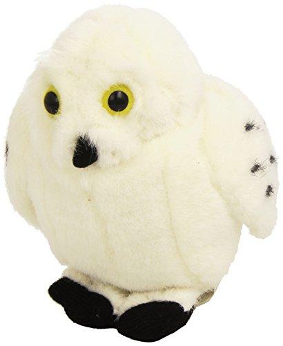 Wild Republic Oiseaux 13–16 cm Snowy Owl Oiseau avec véritable appels en Peluche