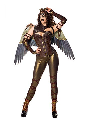 Mask Paradise Dames kostuum Steampunk Angel Fighter M733
