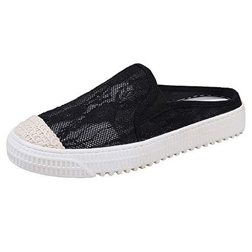 Fiosoji Zapatillas de deporte de malla
