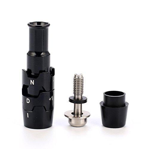 Volf Golf Schaft Sleeve Adapter für Callaway GBB Epic/816/815/V Serial/XR Driver & Fairway 0.335/0,350LH/RH, schwarz