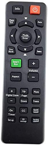 Universal Compatible proyector mando a distancia BENQ MS517