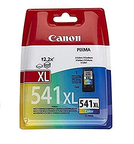 Canon 5226B005 - Cartucho de tinta de color 541XL, 3 colores