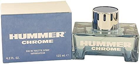 Hümmér Chrome by Hümmér for Men Eau De Toilette Spray 4.2 oz