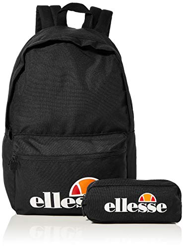 ELLESSE Rolby Backpack and Free Pencil Case Black Schoolbag SAAY0591 Ellesse bags